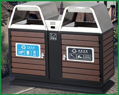 塑木垃圾箱